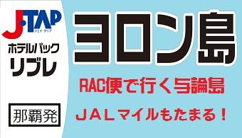 リブレ与論島 那覇発 RACで行くヨロンホテルパック 1泊付【JTAP】