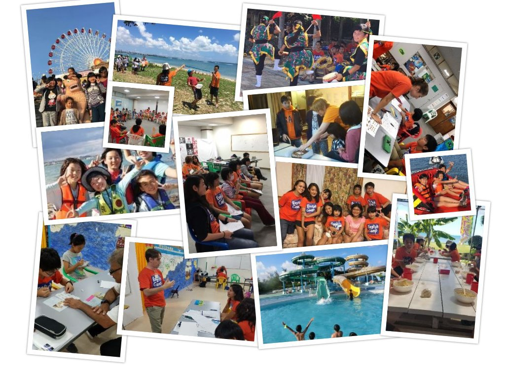 『English Camp in 沖縄』 by DUO 子供だけで参加できる英語合宿。 英会話初心者から、英語文化にどっぷり漬かりたい上級者まで気軽に参加OK!