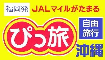 ぴっ旅沖縄|福岡発 JAL往復航空券+ホテル1泊~3泊付 格安ツアー