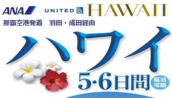 ハワイ 5・6日間 16年11月~17年3月|那覇発 ハワイ格安ツアー