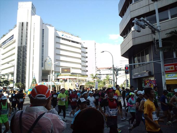 NAHAマラソン 当日 イメージ ©SG
