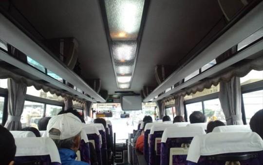 マラソン下見バス イメージ