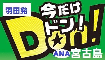 今だけドン!宮古島|東京発 ANA往復航空券+ホテル1泊付~4泊付 格安ツアー