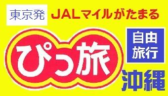 ぴっ旅沖縄|東京発 JAL往復航空券+ホテル1泊付~3泊付 格安ツアー