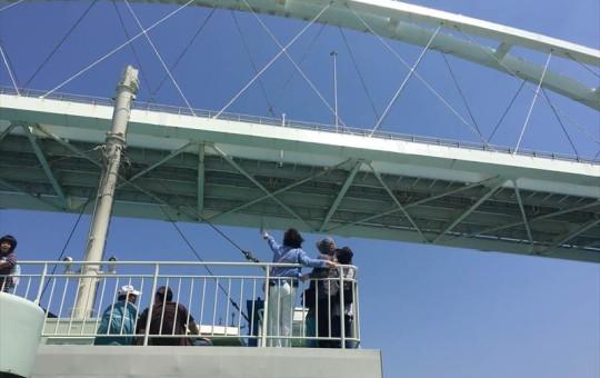 瀬底大橋を抜けて伊江島へ!