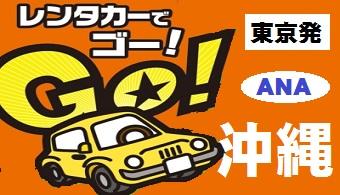 沖縄 レンタカー付でGO!|東京発 ANA 格安ツアー 3・4・5日間