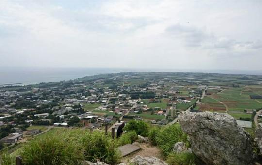 伊江島タッチューからの眺めは絶景!