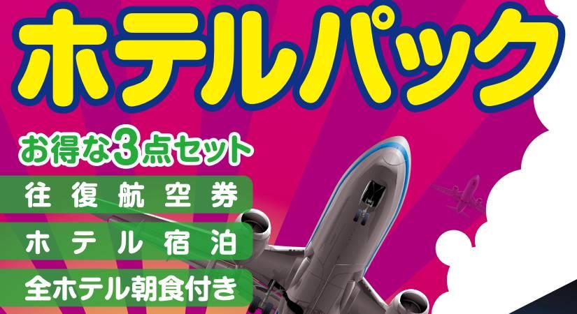 沖縄・那覇発 東京ホテルパック スペシャル版 ANA・JAL