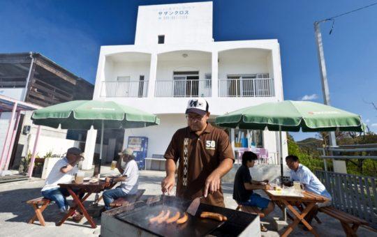 阿波連ビーチ BBQ