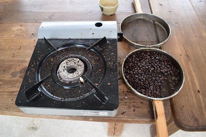 又吉コーヒー園 コーヒー焙煎