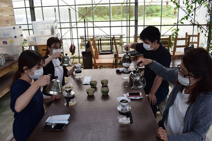 又吉コーヒー園 コーヒー作り体験