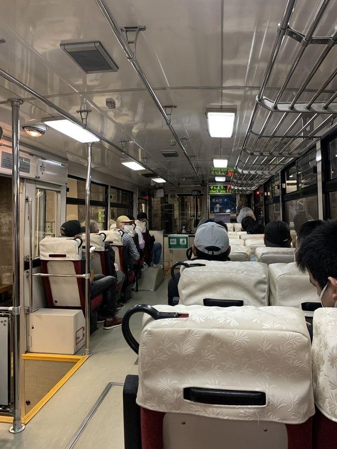 室堂~大観峰へは(立山トンネルトロリーバス)