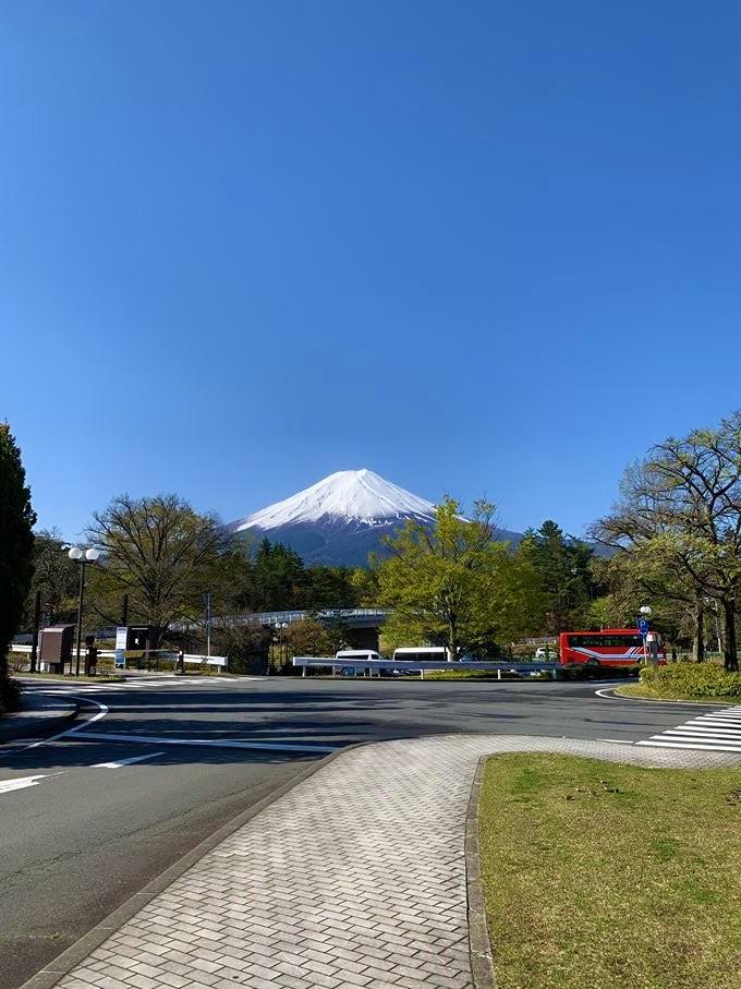 最終日は富士急ハイランドへ!天気も良く、綺麗な富士山に出会えました!