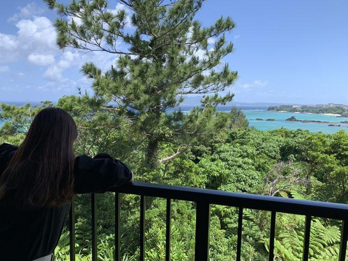「 海の旅亭 おきなわ名嘉真荘 」お部屋からの景色
