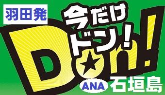 羽田発 ANA 石垣島チョイスプラン(格安ツアー)
