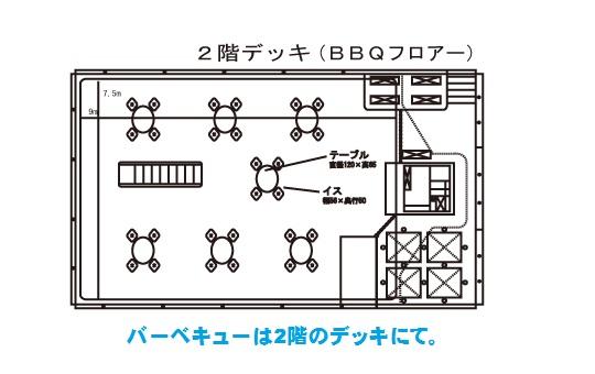 オルカ号 船内2階 イメージ