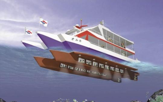オルカ号 船内 CGイメージ
