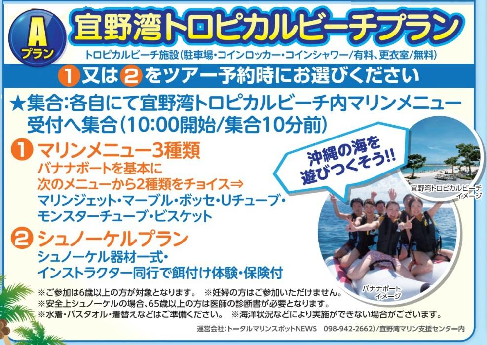 レンタカー付!宜野湾トロピカルビーチプラン【A】