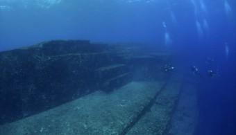 海底遺跡??